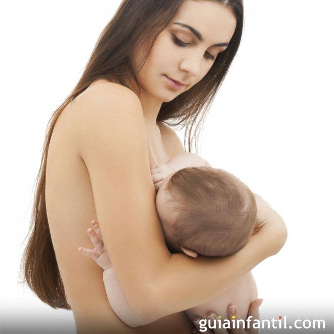 Posición del bebé al pecho materno