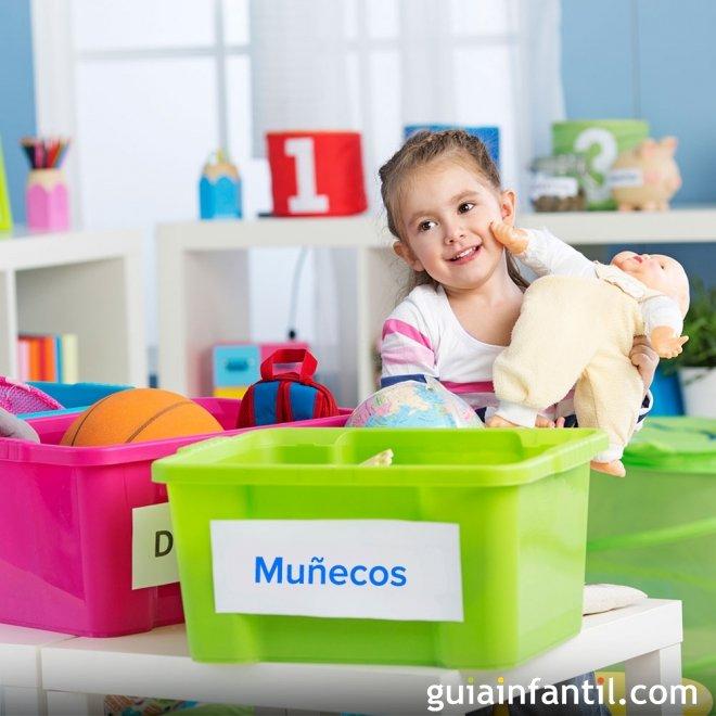 Los niños deben recoger sus juguetes