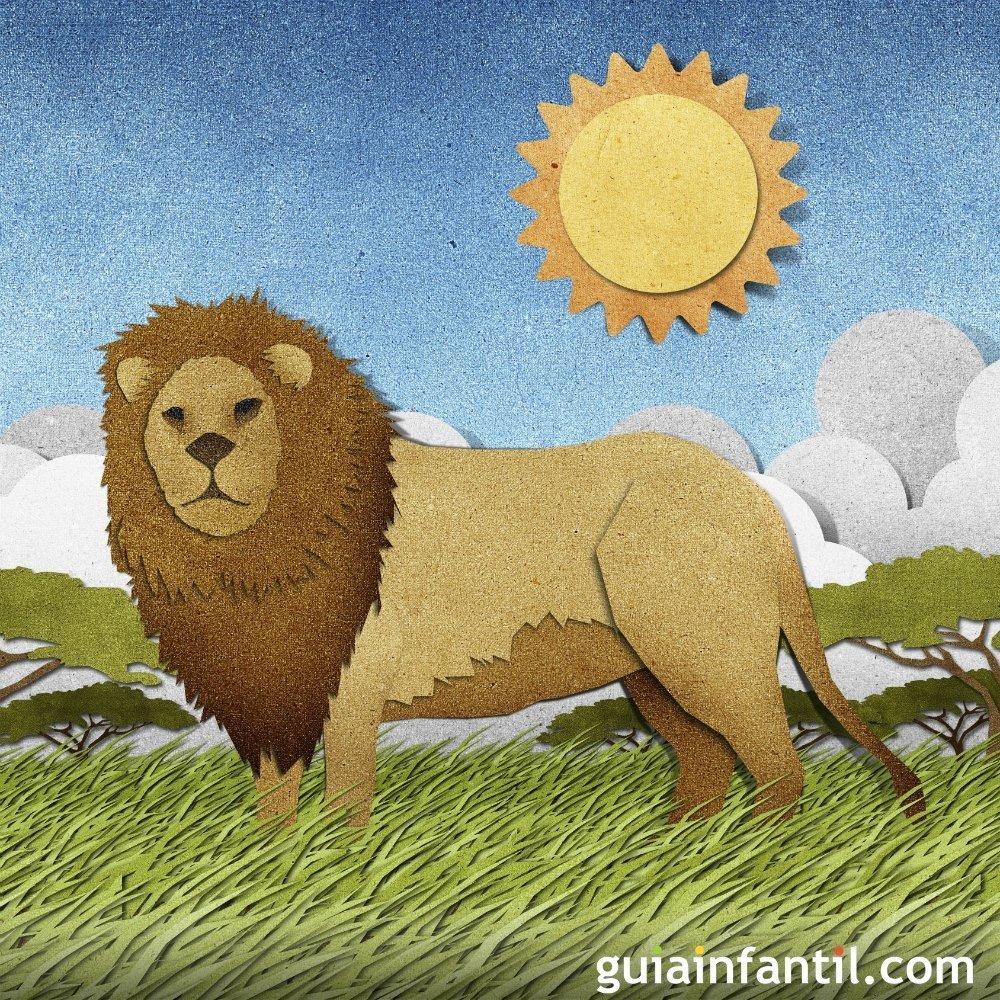 393b5c3a4f Cuentos para niños. El león perdido