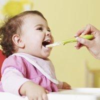 El destete. Los primeros alimentos del bebé