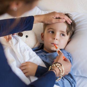 La fiebre en bebés y niños. Qué deben hacer los padres