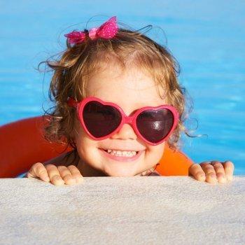 Cuidados con los niños en el agua