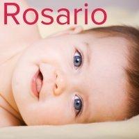 Día de Nuestra Señora del Rosario, 7 de octubre. Nombres para niñas