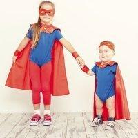 Los disfraces y los niños