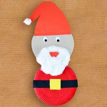 Manualidades de navidad para ni os con platos de cart n - Manualidades navidenas faciles de hacer en casa ...