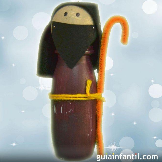 Figura de san jos manualidades recicladas para decorar for Figuras de navidad para decorar