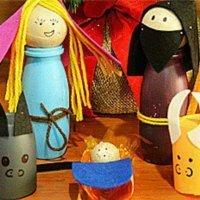Vídeos de manualidades para hacer un Belén de Navidad