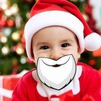De qué y cómo maquillar a los niños en Navidad