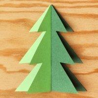 Manualidades para hacer Árboles de Navidad con los niños