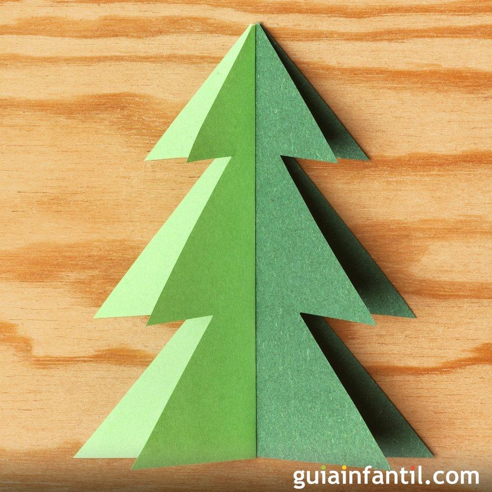 Manualidades Para Hacer Arboles De Navidad Con Los Ninos - Hacer-arboles-de-navidad