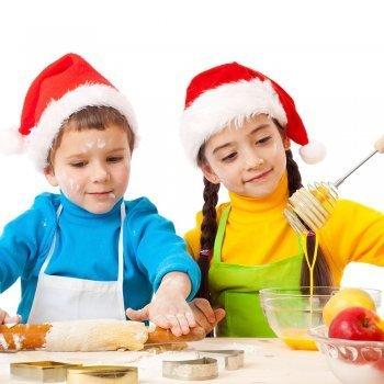 Postres con fruta para Navidad
