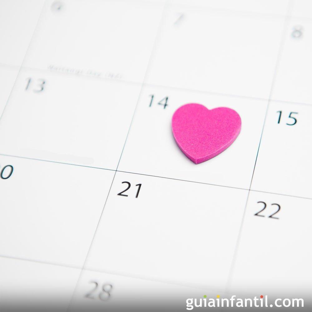 Calendario de nombres de santos para niños y niñas
