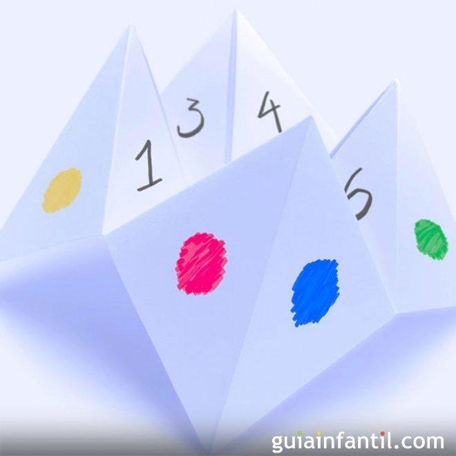 Comecocos de papel manualidad para ni os for Papel decomural para ninos