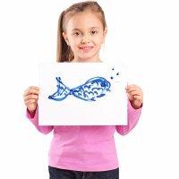 Cómo dibujar animales del mar. Tutoriales paso a paso para niños