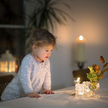 Encender una vela a distancia