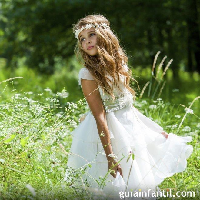 Tipos de vestidos de comunión para niñas