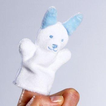 Marioneta de dedo de conejo