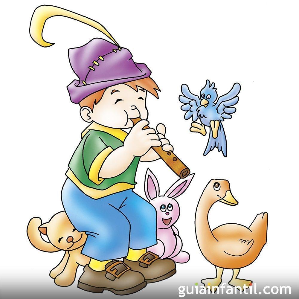 El Flautista De Hamelín Cuentos Infantiles