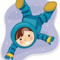 El astronauta. Cuentos para niños sobre la enuresis