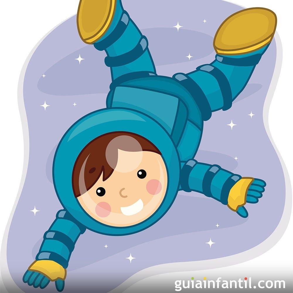 El astronauta cuentos para ni os sobre la enuresis - Bebes dibujos infantiles ...