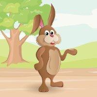 El conejito y el cazador. Cuento para niños sobre la enuresis