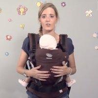Cómo ajustar una mochila portabebés