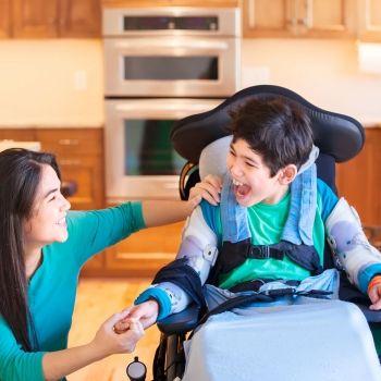 Niños con parálisis cerebral