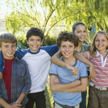 10 razones para llevar al niño a un campamento