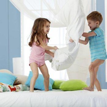 Cómo decorar habitaciones compartidas de niños