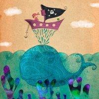 El niño David y la ballena. Cuentos infantiles