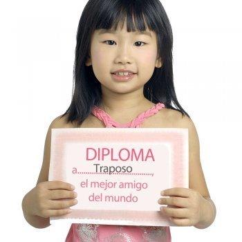 Diplomas para los amigos. Dibujos para imprimir y colorear