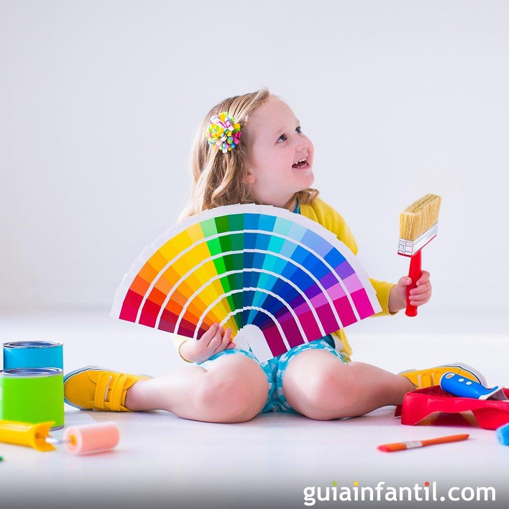 Los colores en la habitaci n de los beb s - Colores para habitaciones de bebe ...