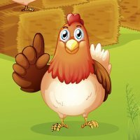 The Little Red Hen. Cuento infantil en inglés