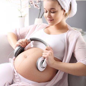 Por qué usar la música durante el embarazo