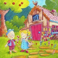 Hansel and Gretel. Cuento infantil en inglés