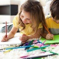 El significado de los colores en los dibujos de los niños