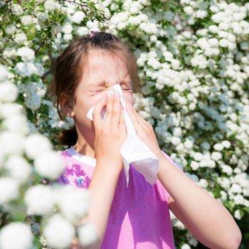 Alergia a las gramíneas en los niños