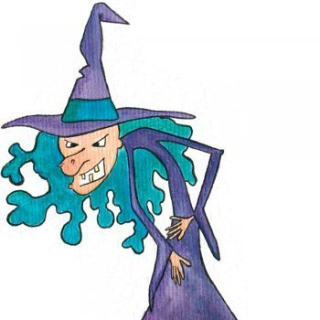 Irene quiere ser bruja