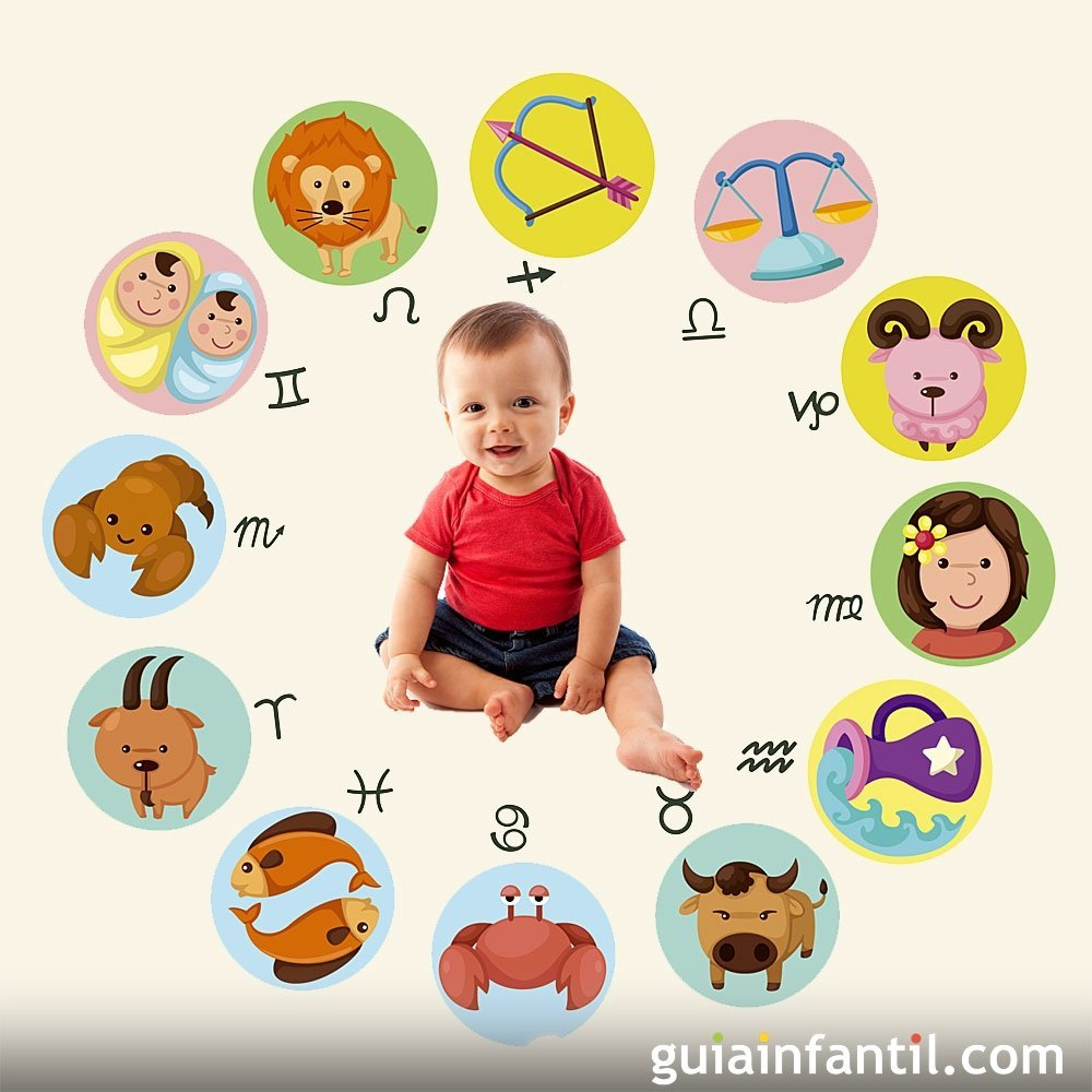 Qué dicen los signos astrológicos de los bebés
