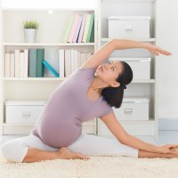 Estiramientos y ejercicios en el embarazo