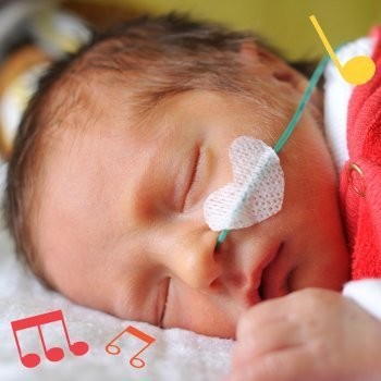 Estimulación musical en bebés prematuros