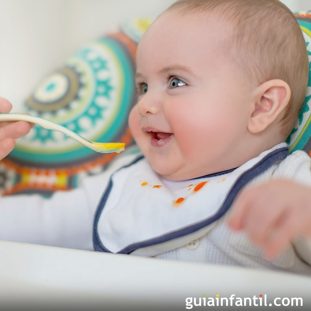 Pure para bebe de 6 meses cambio de alimentos para el beb - Quitar mocos bebe 9 meses ...