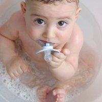 El cubo bañera que calma al bebé