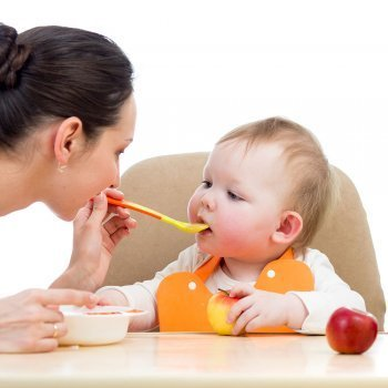 Alimentaci n para beb s de 3 a 6 meses - Bebe de 6 meses ...