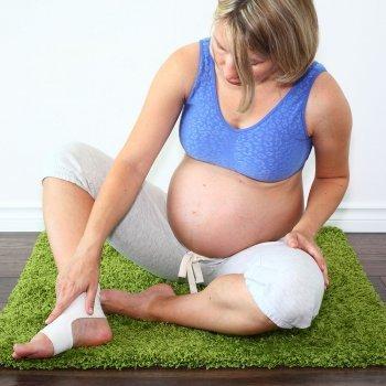 Cómo tratar los edemas en el embarazo