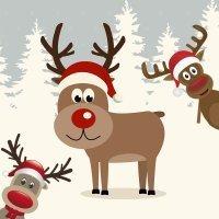 el reno rudolph cuento de navidad para nios
