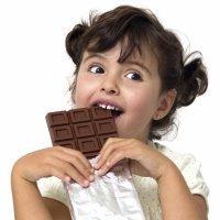 Los beneficios del chocolate en los niños