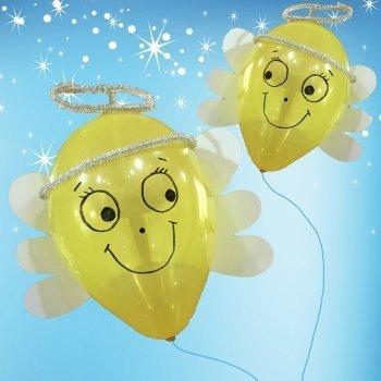 Ángeles con globos