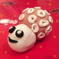 Oveja de plastilina. Manualidades fáciles de Navidad para niños