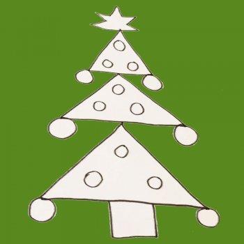 dibujar un rbol de navidad